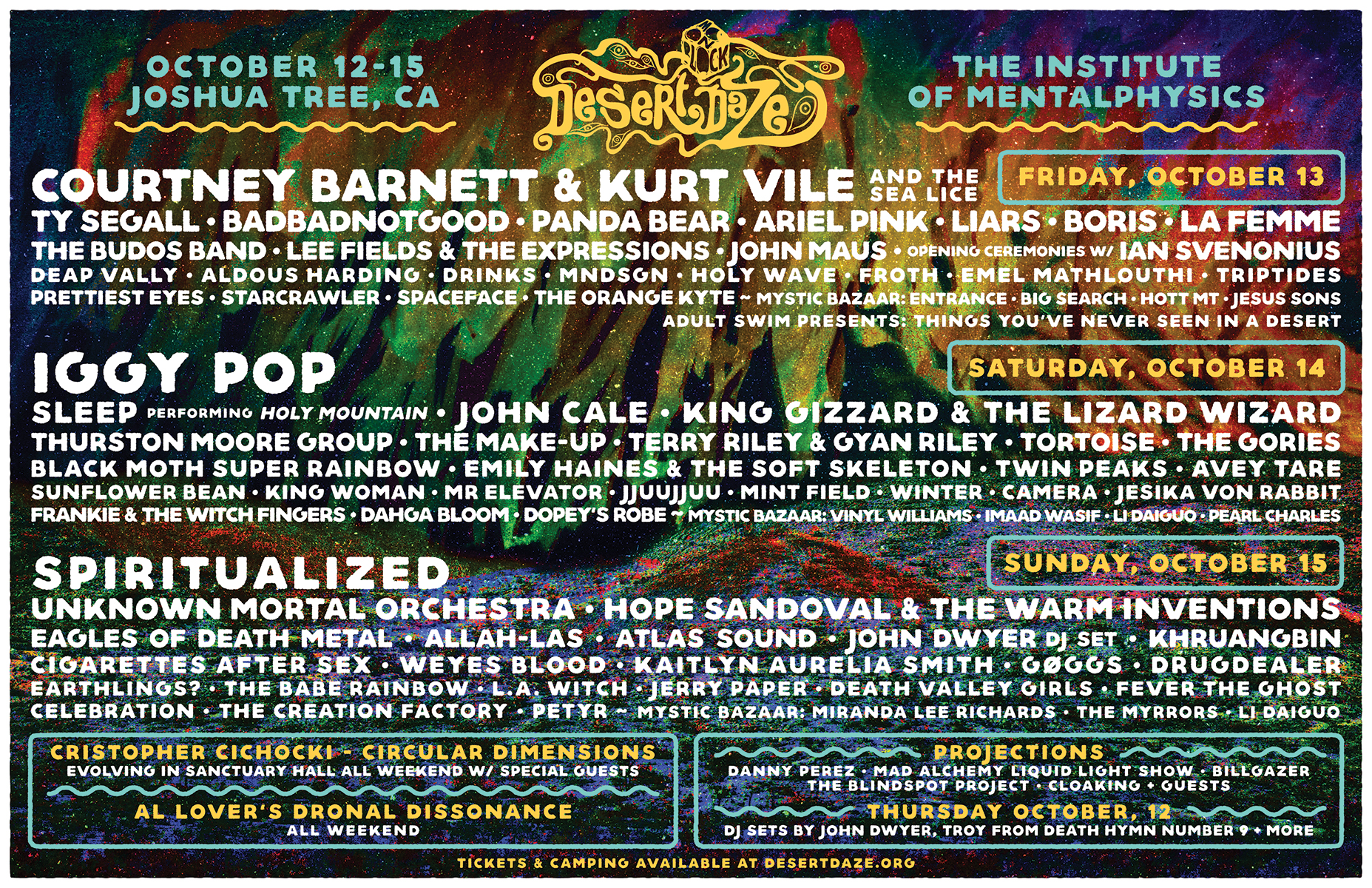 earthlings? at Desert Daze 2017!